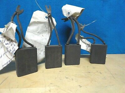 """NATIONAL * CARBON MOTOR BRUSHES * (LOT OF 4) * SA-35 * 5/8"""" x  1½ x 2 ** NEW"""