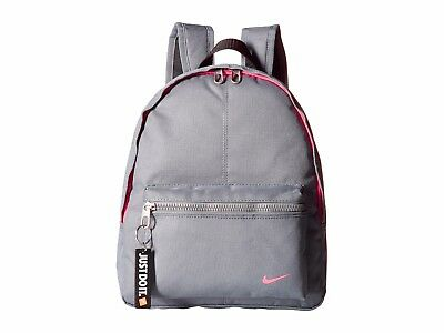 5b70fd4632 New Nike Young Athletes Classic Base Backpack Mini Small Grey Pink Girls  Kids