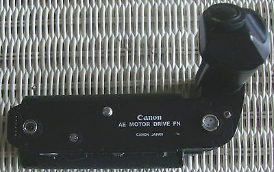 Canon AE Motor Drive FN With Battery Pack For Canon F-1