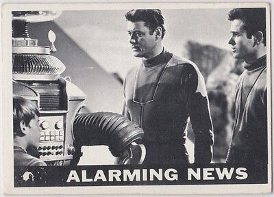 Lost In Space 1966 Topps #29 Alarming News Poor To Fair Condition #2