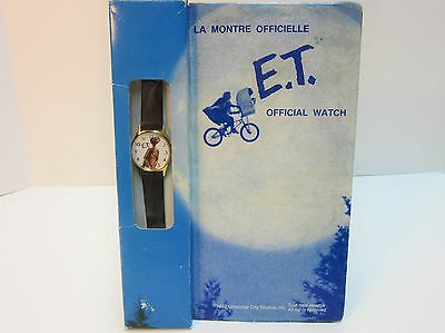 The Official E.T. Watch By Nelsonic  - Never Worn MIB- 1982 Universal