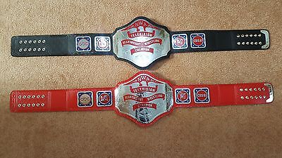 NWA Television Heavyweight Championship Belt Adult Size with WOODEN CASE