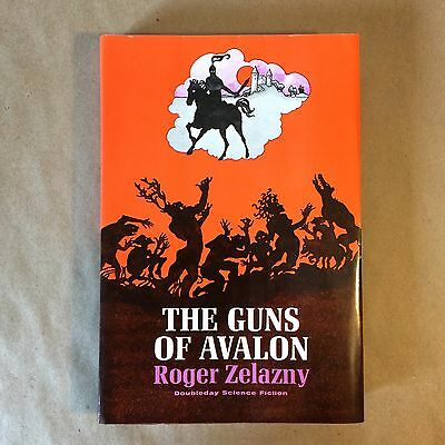 The Guns of Avalon by Roger Zelazny (First Edition/Second Printing, Hardcover)