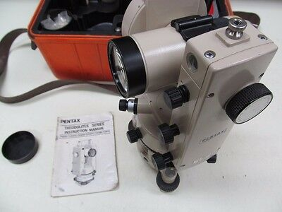 PENTAX TH-20D Optical Theodolite Calibrated