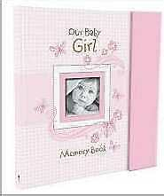 Baby Book-Our Baby Girl Memory Book-Pink W/Gift Box