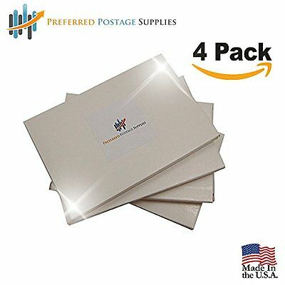 Money Saver Four Pack (400 Labels) 6x4 Postage Meter Tape With Perf 612-0