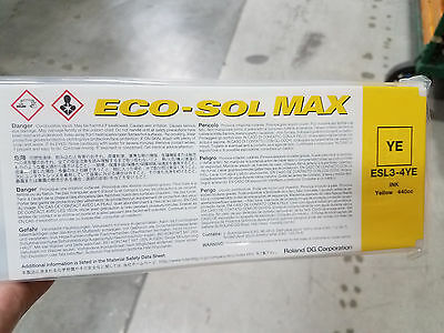 Roland Eco Sol Max 440ml Ink YELLOW