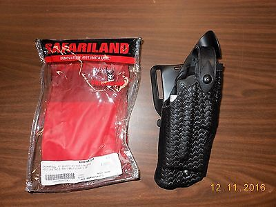 Safariland 6360-832-81 Basketweave Holster R/h  Glock 22,17,etc W/ Tlr1 Light