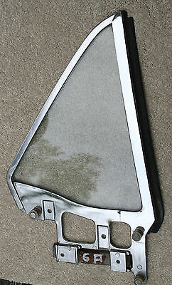 64 65 66  Mustang Coupe Rh Clear Glass Quarter Window Very Nice