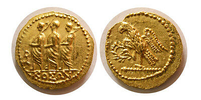 FA-R0044- THRACE, Dynasts of Koson. after 54 BC. Gold Stater