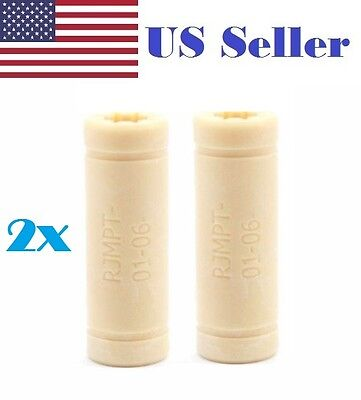 2pcs 3D Printer 6mm Igus RJMPT-01-06 LM6LUU Plastic polyme linear bearing