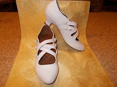 "Women's Size 9, ""Astoria"" Edwardian Shoes American Duchess (Historical Footwear)"