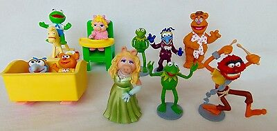 "JIM HENSON MUPPETS MUPPET BABY GONZO THE GREAT PVC 3"" FIGURE 10 FIGURINE Lot"