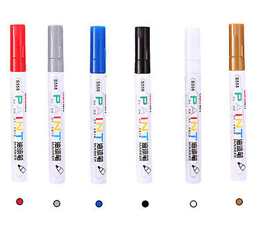 Paint Pen Marker 4mm Bullet Nib Waterproof Metal Stone Glass Fabric Quality Eco