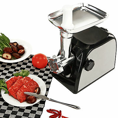 1500W Electric Meat Grinder Home Commercial Stainless Steel Sausage Stuffer
