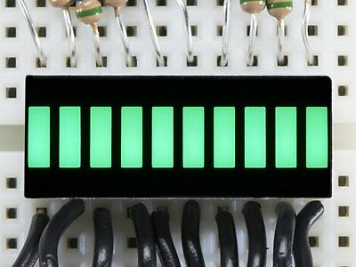 Adafruit 10 Segment Light Bar LED Display 1/2/5 PCS