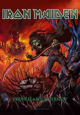 Iron Maiden from fear to eternity  Textile Poster Flag