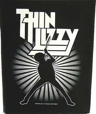 THIN LIZZY B+W Back Patch XLG free worldwide shipping