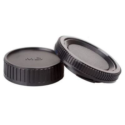 Rear lens + Body Cap cover for Minolta MD MC SLR Camera and Lens MD
