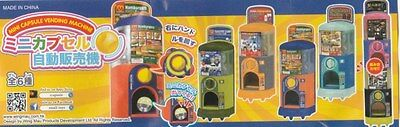 Small toys Robo Gacha Mini Capsule Gashapon Gacha vending machine Figure