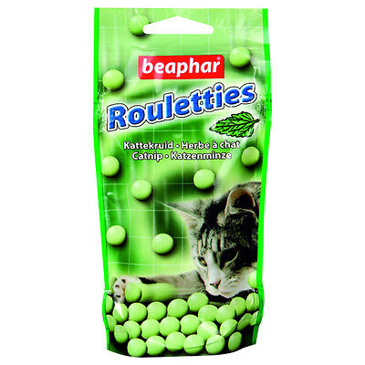 Beaphar Rouletties Chat Nip, Snack pour chats, NEUF