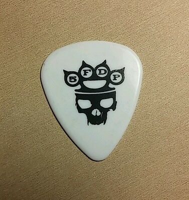 Five Finger Death Punch 5Fdp War Is The Answer Knuckle White W Skull Guitar Pick