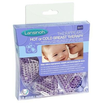 Lansinoh TheraPearl Hot Cold Breast Therapy Helps Relieve Engorgement Mastitis