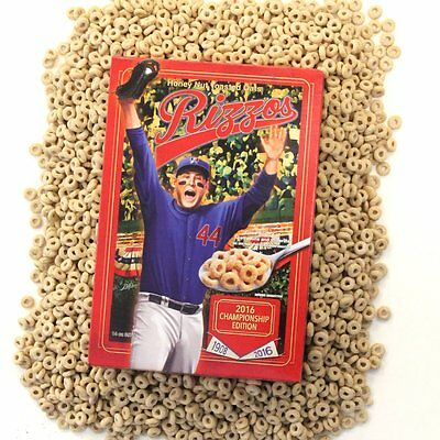Rizzo Cereal Champion Edition 14z LIMITED EDITION  WHILE SUPPLY LAST  Case of 12