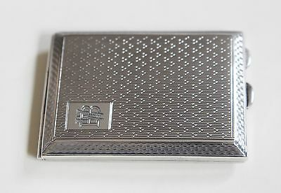 Solid Silver Card Case Chester 1927