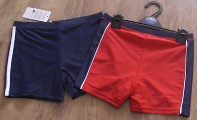 Ex-store 12-18 months boys 2 pairs swim trunks shorts BNWT
