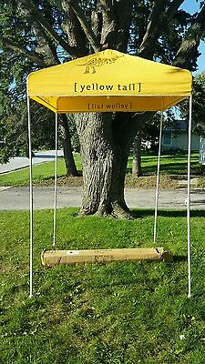 (L@@k) Yellow Tail Wine  Gazebo Outdoor Canopy Tent Kangaroo Winery Mib Rare
