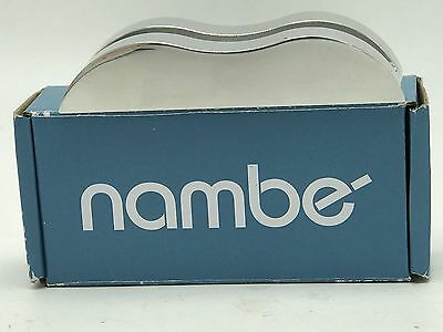 Nambe Wave Business Card Holder New in Box