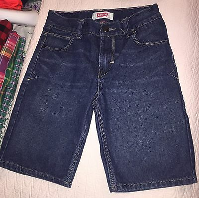LEVIS SHORT YOUNG BOYS Sz 10 BLUE