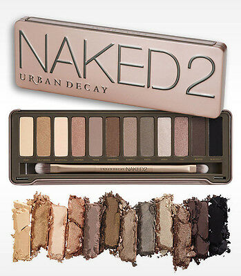 Brand New Naked 2 The Professional Eyeshadow Palette Makeup