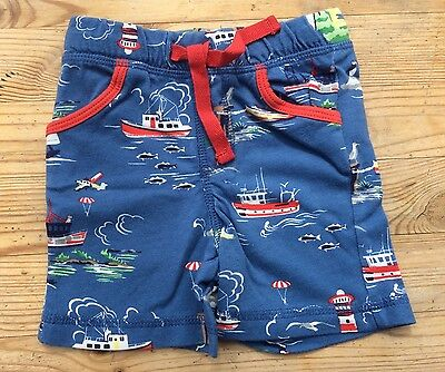 New Baby Boden Boys Pull On Shorts Holiday 3-6 Months
