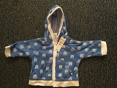 Children's Place Frog Print Hoodie NWT 3-6 Months