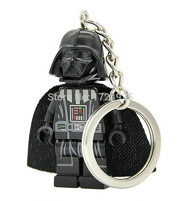 Llavero Darth Vader Star Wars modelo 1 compatible con lego