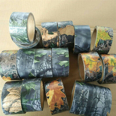 10M Outdoor Camo WRAP GUN RIFLE Hunting Waterproof Camouflage Stealth Duct Tape