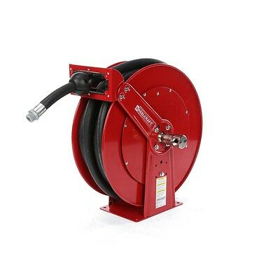 REELCRAFT FD84050 OLP Hose Reel, 1 In., 50 ft. L, 50 psi, With Hose