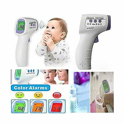 MakeTheOne LCD Digital Non-Contact IR Infrared Laser Forehead Thermometer Tem...