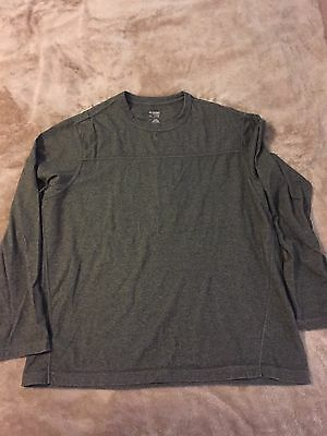 Men's Nike Dri Fit Long Sleeve Shirt Size XL