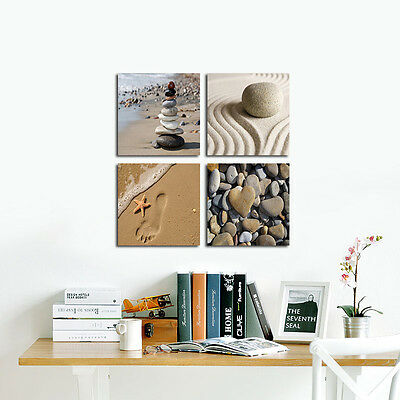 Photo Picture Canvas Print Wall Art Home Decor Sea Beach Landscape Framed