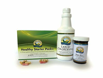 NAtures Sunshine - HEALTHY STARTER+ PROGRAMME, TEN DAY CLEANSE + SUPPORT PROD...