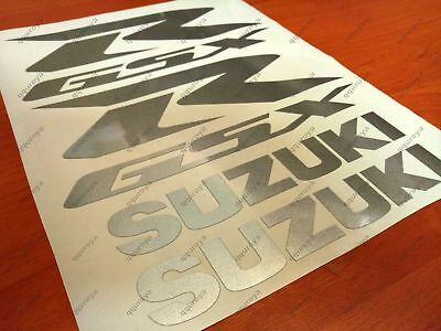 SUZUKI GSXR FAIRING DECALS STICKERS 600 750 1000 1100 TANK BIKE MOTORCYCLE #008s