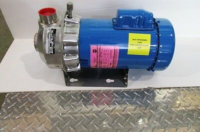 """Gould Pump NPE Series with Emerson 1 1/2 HP Motor**NEW and UNUSED** 1 1/2"""" x 2"""""""
