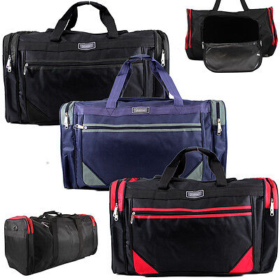 35L Unisex Sports Gym Travel Duffle Weekend Overnight Holdall Hand Luggage Bag