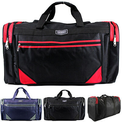 62L Unisex Sports Gym Travel Duffle Weekend Overnight Holdall Hand Luggage Bag
