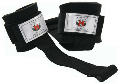 NEW Power Lifting Strap With Rubber Tip