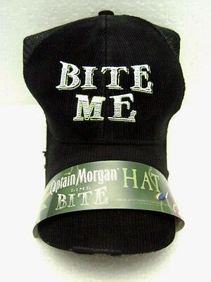Captain Morgan Hat Baseball Cap Lime Bite Limited Edition New Old Stock One Size