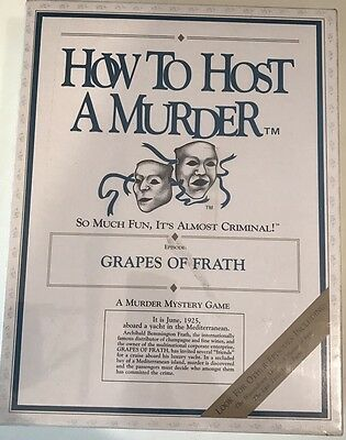 New, How To Host A Murder Board Game